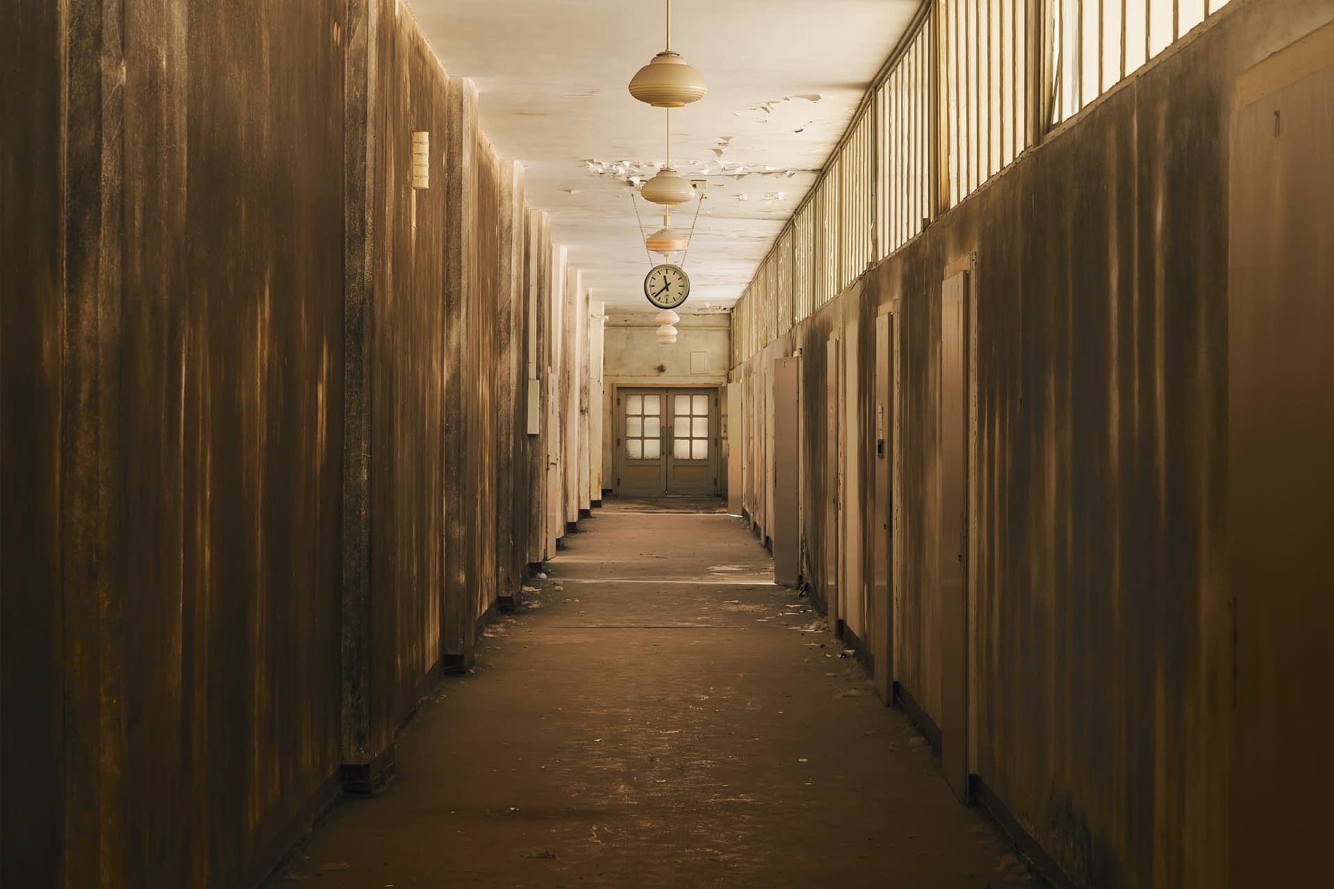 abandoned in Germany The corridor